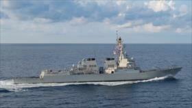 EEUU eleva tensión con China enviando buques al estrecho de Taiwán