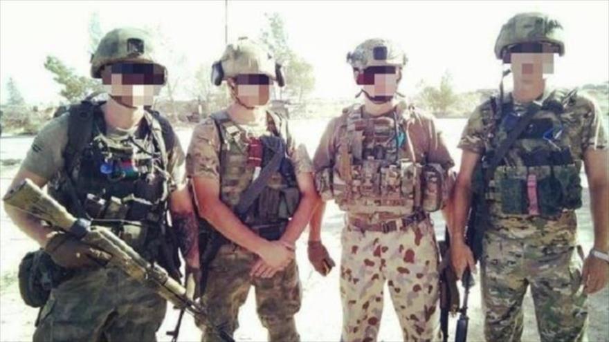 Militares rusos luchan contra terroristas en el este de Siria