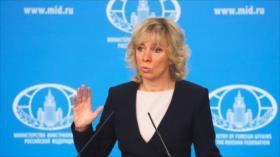 """Rusia rechaza informe """"dudoso"""" de EEUU sobre ataque en Idlib"""