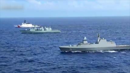 China denuncia envío de buques de EEUU al estrecho de Taiwán
