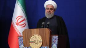 Rohani: Irán hará arrepentir a sus enemigos en guerra económica
