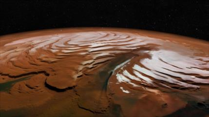 Investigadores descubren antiguas capas de hielo en Marte