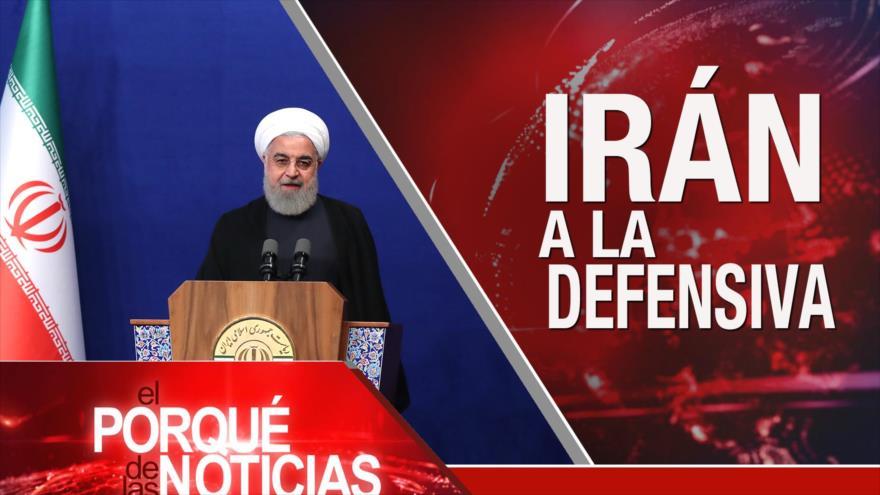 El Porqué de las Noticias: Irán a la defensiva. Guerra saudí contra Yemen. Elecciones europeas