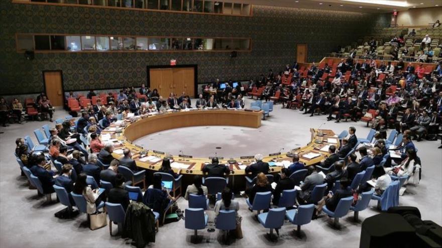 El debate en el Consejo de Seguridad de las Naciones Unidas sobre la protección de civiles en conflictos armados, 23 de mayo de 2019.