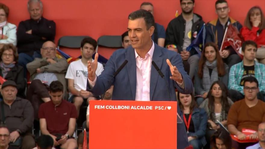 Sánchez busca capitalizar victoria electoral en las municipales