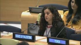 Palestina pide a la ONU acabar con impunidad de crímenes israelíes