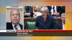 Bigio: Tras fracasar, May no tenía otra alternativa que dimitir