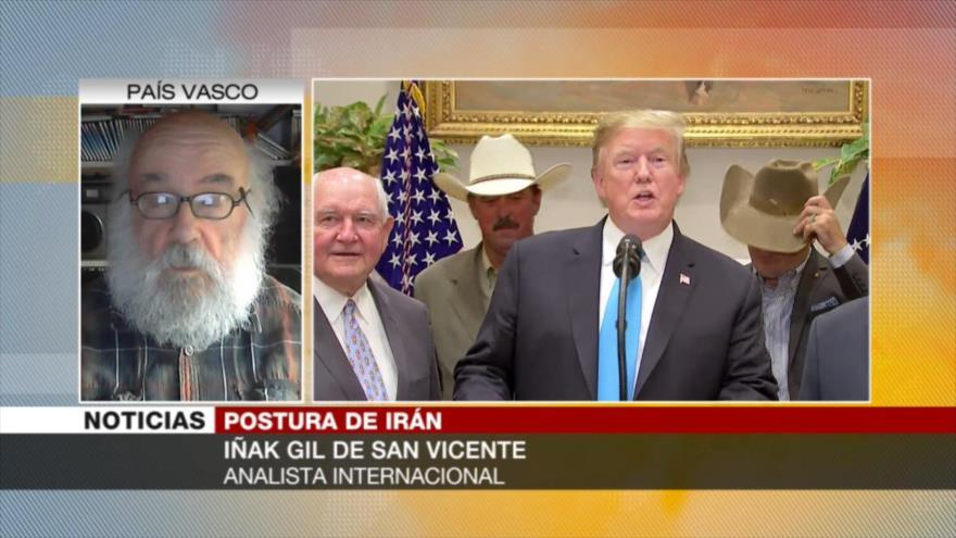 Gil: Iraníes tienen toda la razón en acusar de terrorista a Trump