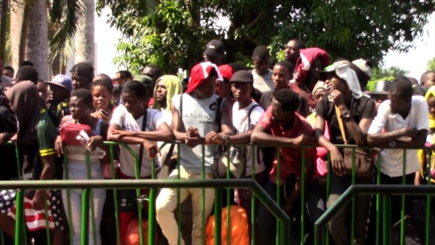 Llega nueva oleada de migrantes africanos a la frontera de México