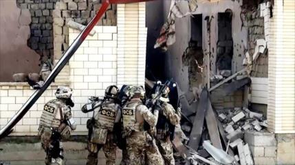 Vídeo: Operación antiterrorista de fuerzas rusas en su territorio
