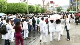 Honduras en paro general en defensa de la educación y salud