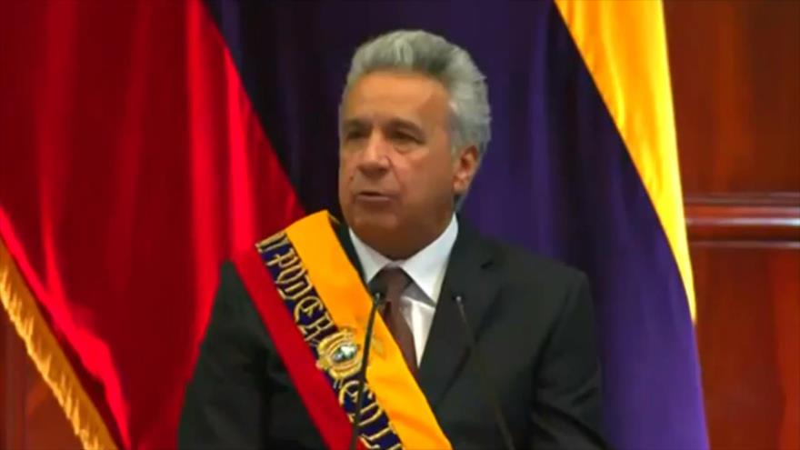 Lenín Moreno cumple dos años como presidente de Ecuador