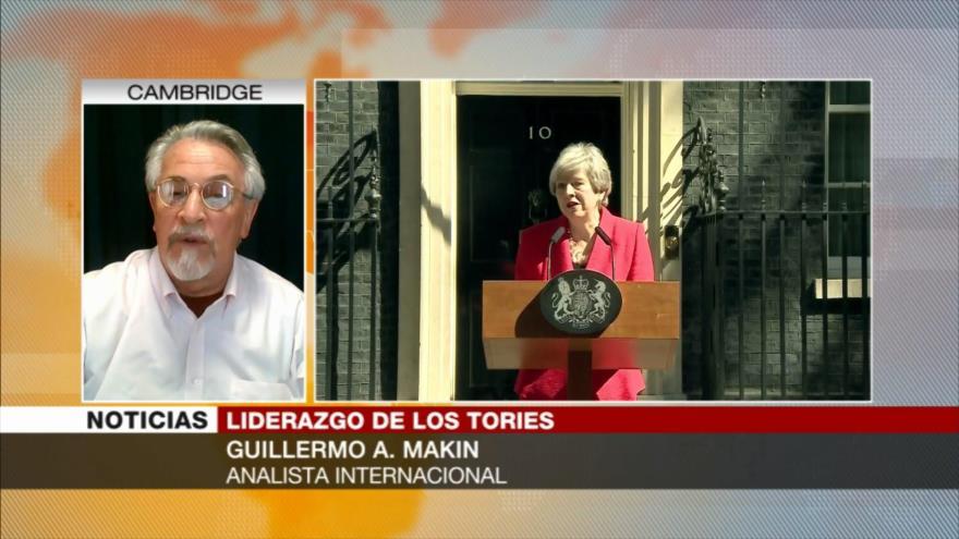 A. Makin: Renuncia de May no resuelve nada en el Reino Unido