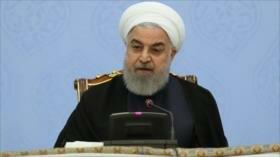 Rohani: Irán saldrá victorioso de guerra económica de EEUU