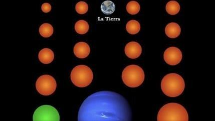 Hallan 18 planetas de tamaño de la Tierra fuera del Sistema Solar