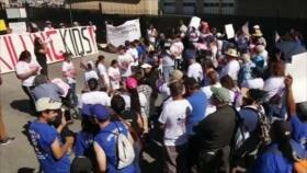 Yemen respuesta a Riad. Nasralá apoya a Palestina. Protesta en EEUU