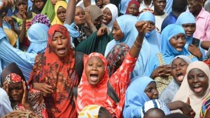 Nigerinos exigen la salida de tropas de EEUU y Francia del país