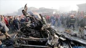 Ataque con coche bomba deja 5 muertos y 8 heridos en norte de Irak