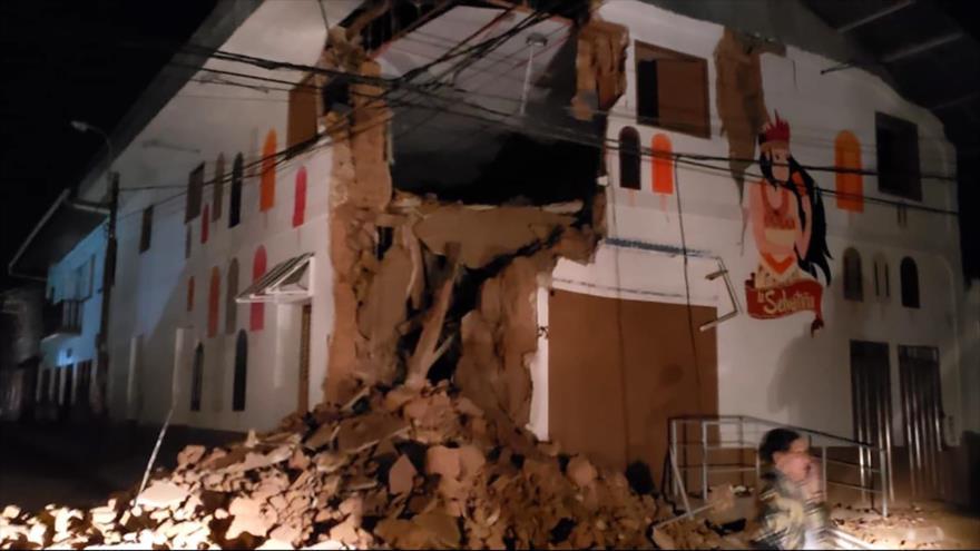 Fuerte terremoto de 8,0 grados sacude el norte de Perú