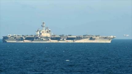 'Portaviones de EEUU no se atrevió a entrar en el Golfo Pérsico'