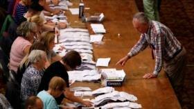 Resultados de votos en UE. Zarif responde a EEUU. Temblor en Perú