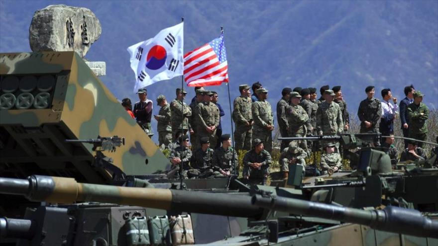 Una maniobra militar conjunta entre Estados Unidos y Corea del Sur.