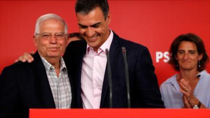 El PSOE gana holgadamente las elecciones europeas en España