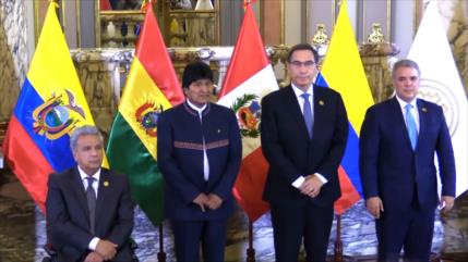 50 aniversario de la creación de la comunidad andina