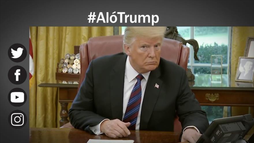Etiquetaje: ¡Aló Trump!; los iraníes llaman a Donald
