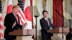 Trump y Abe chocan sobre prueba de misiles de Corea del Norte