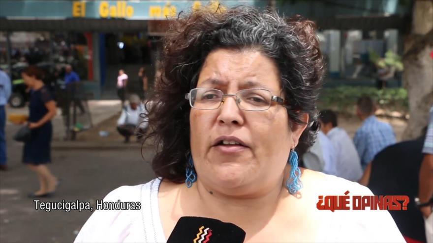 ¿Qué opinas?: Protestas contra la privatización de la salud y educación en Honduras