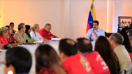 Maduro denuncia bloqueo económico de EEUU contra Venezuela