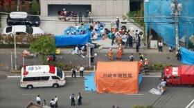 Ataque con arma blanca en Japón deja 19 heridos, incluyendo niños