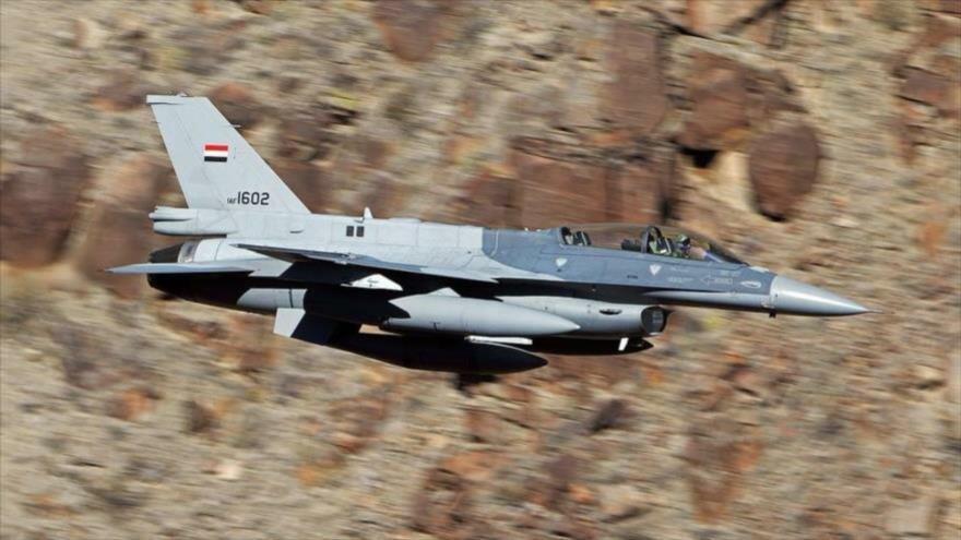 Cazas iraquíes atacan posiciones de Daesh y matan a 10 terroristas | HISPANTV
