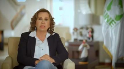 Sandra Torres arremete contra la prensa y fiscales en Guatemala