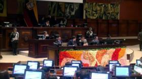 Lenín Moreno y la derecha bancaria pactan en Asamblea de Ecuador