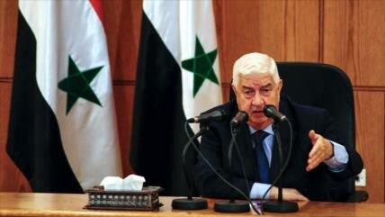 Siria califica de 'terrorismo' bloqueo económico de EEUU y Europa