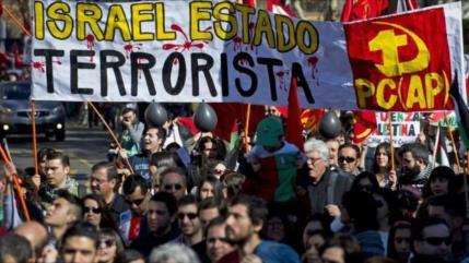 Convocan marchas en A. Latina y España para Día Mundial de Al-Quds