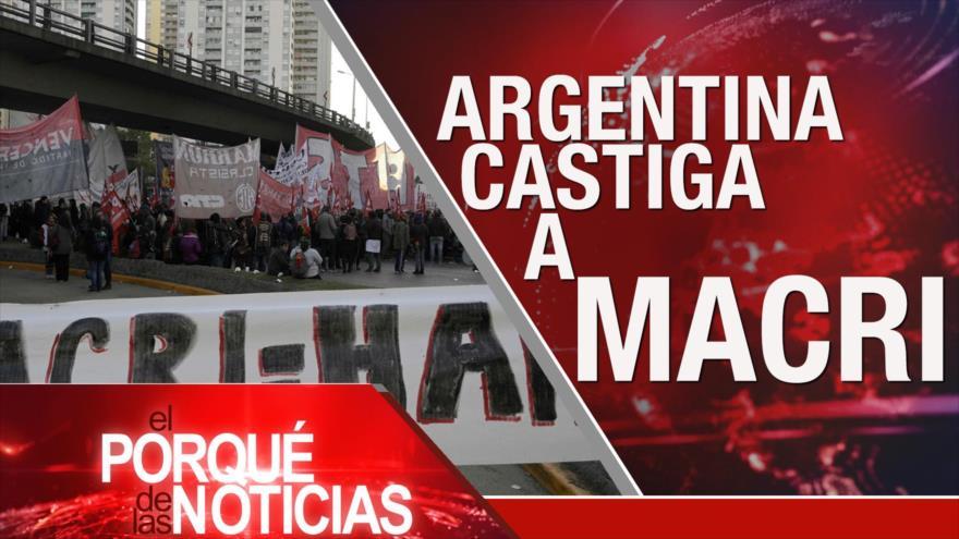 El Porqué de las Noticias: Acuerdo del siglo. Paro general en Argentina. Independentismo catalán
