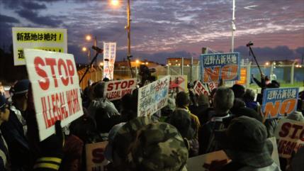 Okinawa advierte a EEUU de disturbios, si no abandona base militar