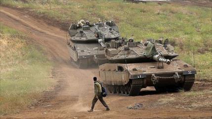 Siria en alerta tras tanques israelíes cruzar frontera de Golán