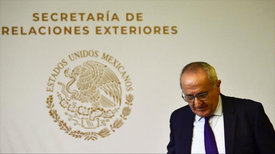 El subsecretario mexicano para América del Norte, Jesus Seade, en una conferencia de prensa en la Ciudad de México, 30 de mayo de 2019. (Foto: AFP)