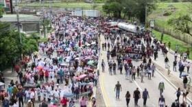 Honduras en paro nacional contra su Gobierno