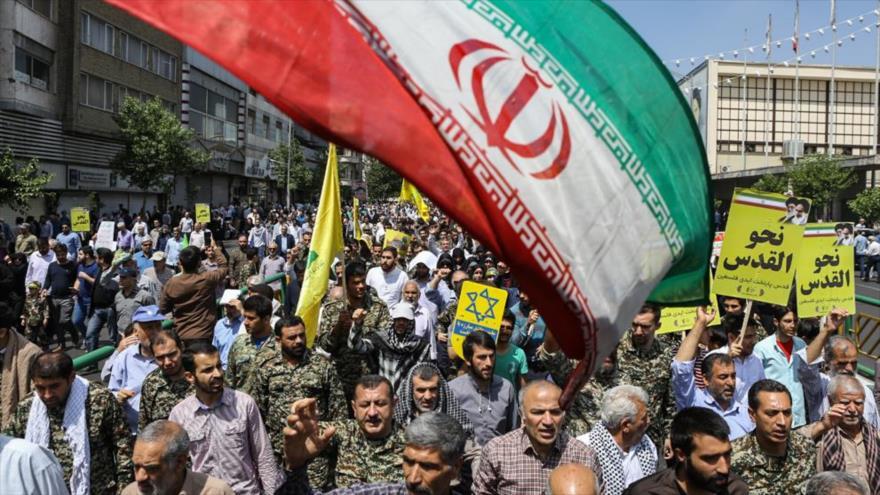 Iraníes participan en masivas marchas del Día Mundial de Al-Quds
