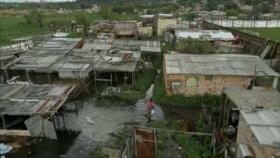 Inundaciones causan estragos en Paraguay