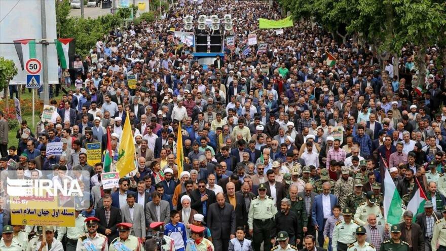 ¿Cómo describen los medios del mundo marchas del Día de Al-Quds? | HISPANTV