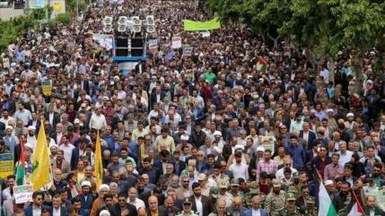 ¿Cómo describen los medios del mundo marchas del Día de Al-Quds?