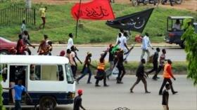 La Policía de Nigeria dispara a manifestantes en el Día de Al-Quds