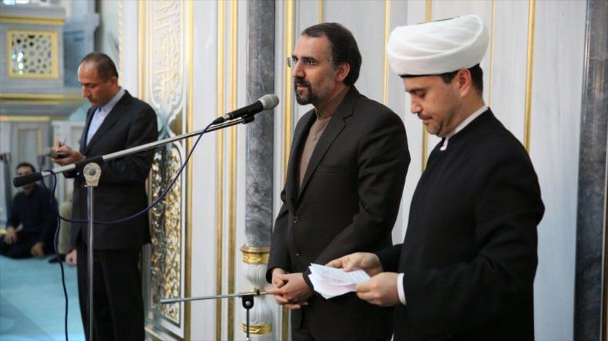 Conmemoran Día Mundial de Al-Quds en Mezquita CatedraldeMoscú