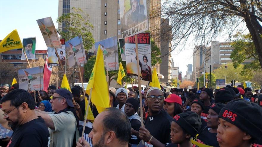 Sudáfrica clama por la libertad de Palestina en el Día de Al-Quds